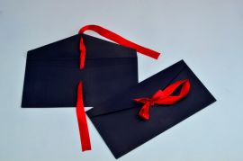 Magestic Navy Envelope