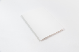 Classic White Textured Notebook