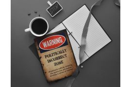 Warning Metal Personal Diary