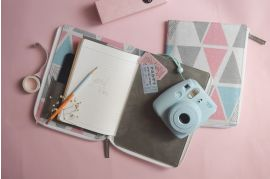 Happy Canvas and Vegan Leather Utility Journal